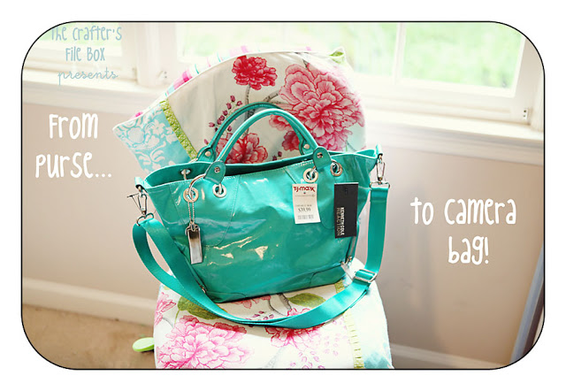 Guest Project — Turn a Purse into a Stylish Camera Bag!!!