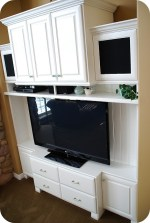 DIY Entertainment Unit Remodel — Reveal!!