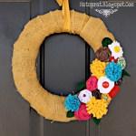 Great Ideas — Spring Wreaths {1}