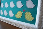 Guest Project — Love Birds Wall Hanging {tutorial}