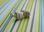 Guest Project — Make Stamped Initial Cuff Links!! {Father's Day gift idea}