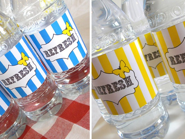 Guest Project — How to Make Custom Water Bottle Labels {with free printables!}