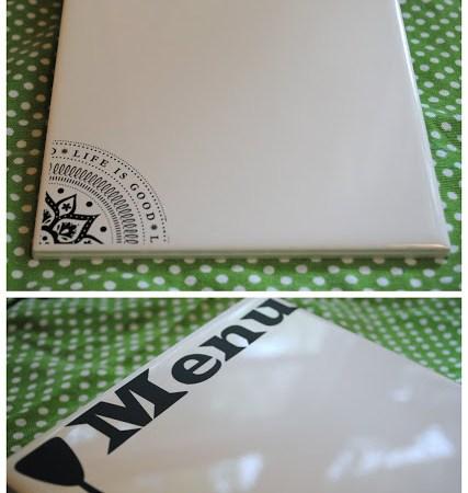 """Summer Social"" Guest Project — Decorative Tile Message Board {tutorial}"