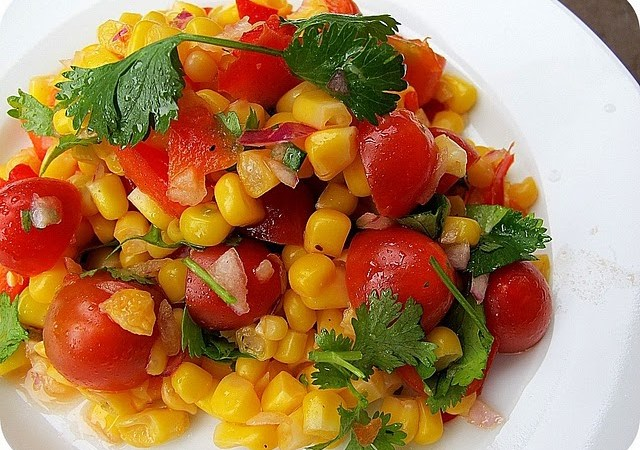 Summer Cooking — The Most Delicious Corn Salad Recipe!!