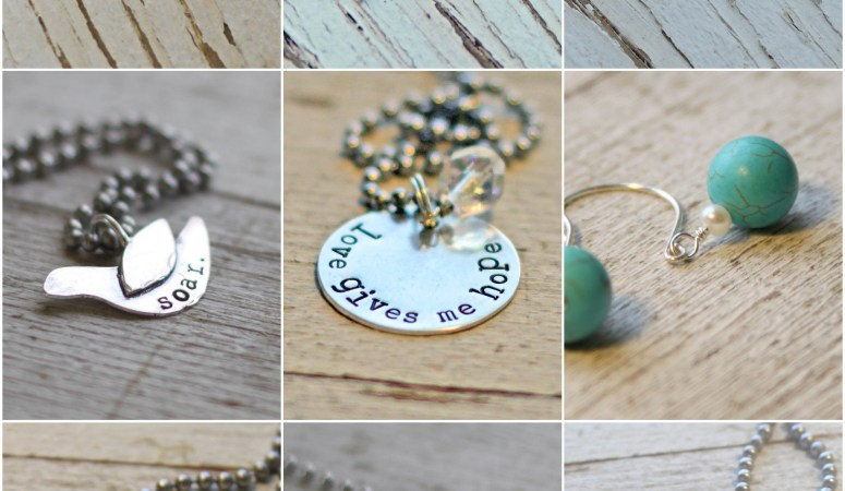 Giveaway Monday — Rusted Chain Jewelry {two winners}