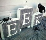 Halloween Project — Make EEK Blocks!! {tutorial}
