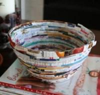 Picture of Magazine Bowl [alittlehut.blogspot.com] - Tipnut.com