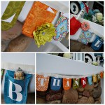 Thanksgiving Countdown Bunting Tutorial {and 28 grateful activities}
