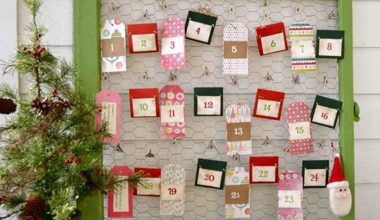 Great Ideas — 20 AMAZING Holiday Advent Calendars!!
