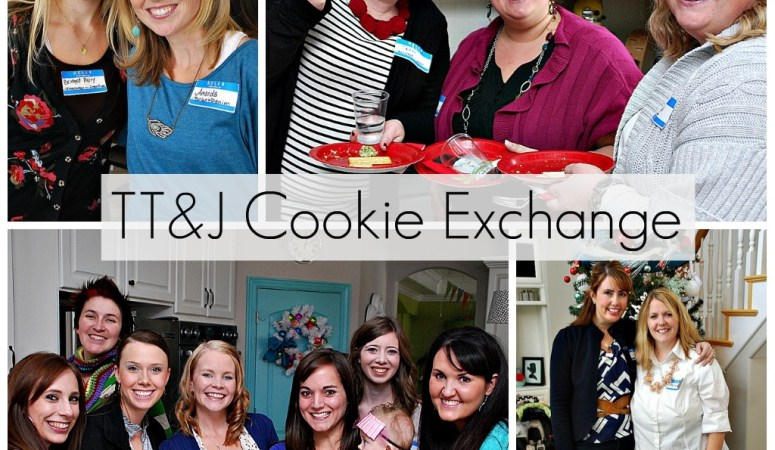 2nd Annual TT&J Cookie Exchange Party (and Holiday Cookie recipe link up)!!