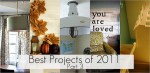 Great Ideas — Fabulous Projects of 2011(part 3)