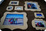 Creating a Family Picture Wall — Step 1: The Placement