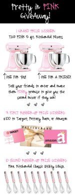 Pretty In Pink Giveaway!!