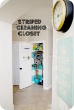 Make a Striped Closet! (and organization printables)