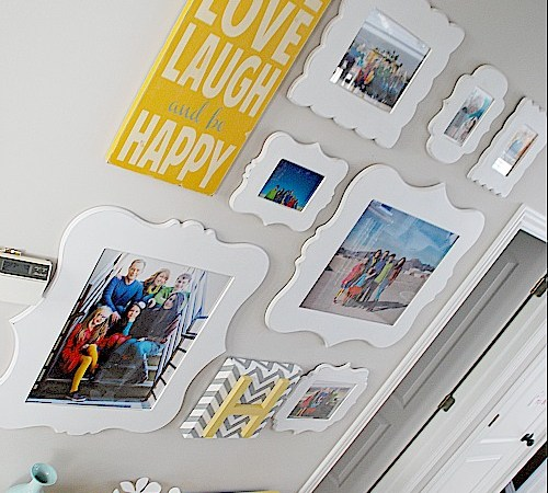 Family Picture Gallery Wall — Reveal!!