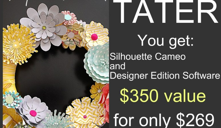 My Favorite Crafting Tool Giveaway — A Silhouette Cameo ($350 value)!!