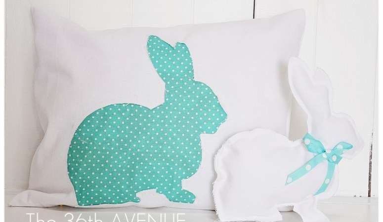 Make a Spring Bunny Pillow!!