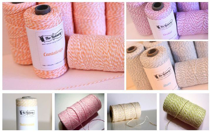 Decorating with Baker's Twine! (ideas and a deal)