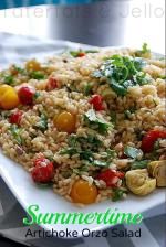 Orzo Artichoke Salad Recipe!