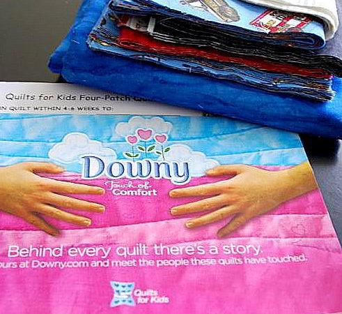 Downy's Touch Of Comfort: Get Involved and Give Quilts To Sick Kids!