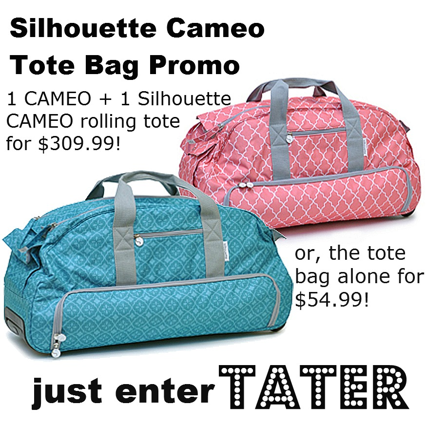 c57c39ff94 Win my Favorite Crafting Tool -- a Silhouette Cameo PLUS Rolling Tote!