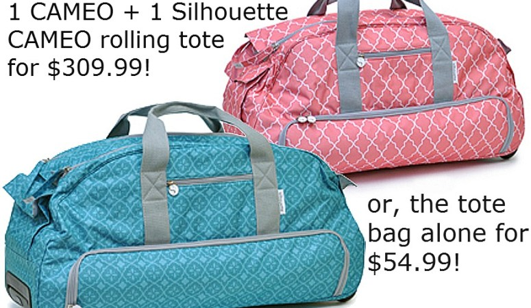 Win My Favorite Crafting Tool — a Silhouette Cameo AND Rolling Tote Bag! ($370 value)