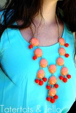 Weekend Wrap Up Party — and Bubble Bib Statement Necklace Giveaway!!