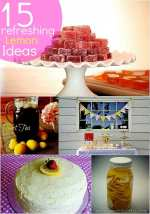 Great Ideas — 15 Refreshing Lemon-Inspired Ideas!!