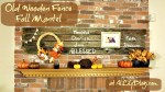 Great Ideas — 30 Fall & Halloween Mantel Vignettes!!