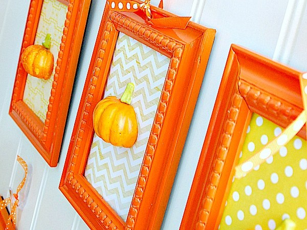 It's Pumpkin Week — 3-D Pumpkin Art Wall!