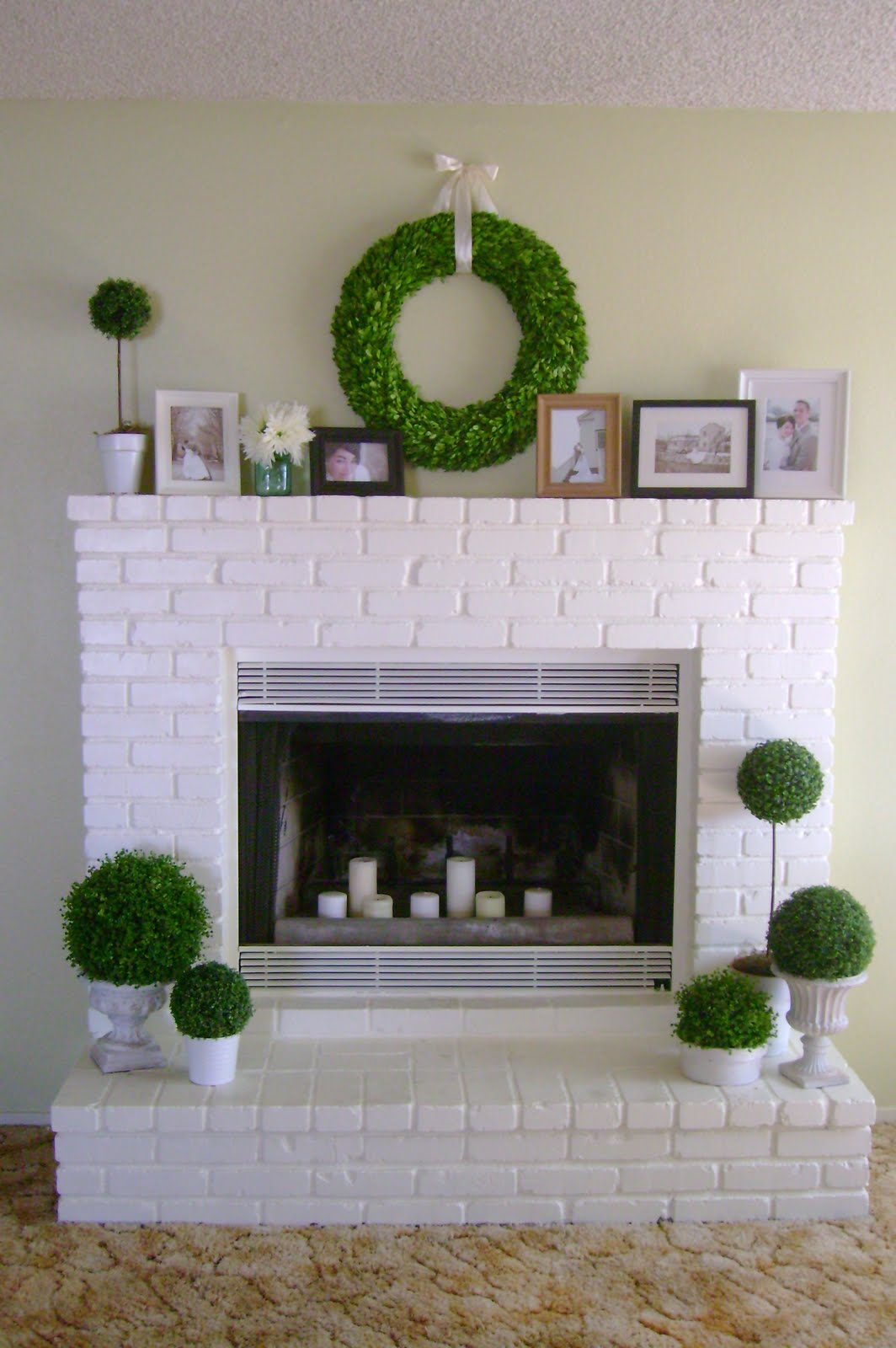 Transform an outdated fireplace into a room focal point with paint and hard work. Here are 10 Fireplace Before and After projects for inspiration!