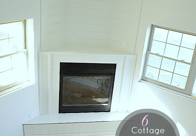 6 Tips to make a DIY Cottage Fireplace and $ 100 Lowes Gift Card Giveaway