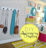 Make a DIY Accessory Display (Hannah's Room Update)
