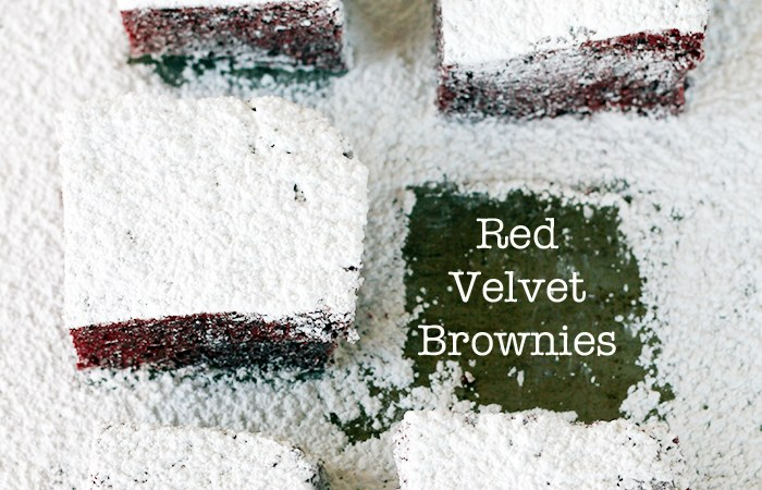 Easy Valentine Treat Recipe — Red Velvet Brownies