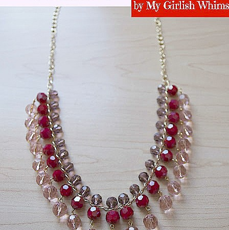 Valentine's Day Drop Necklace Tutorial!