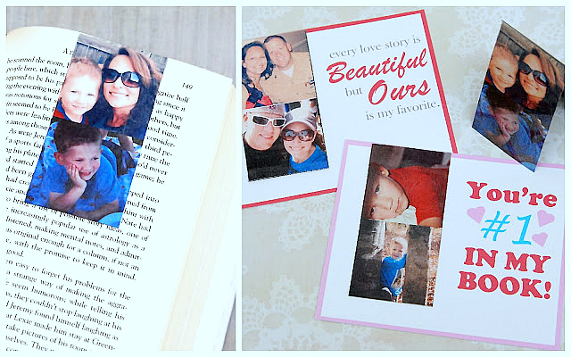 Instagram Magnetic Bookmark Valentines (with free printables)