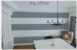 Painting Stripes on a Focal Wall … and My Colortopia's Color My Room Tool!