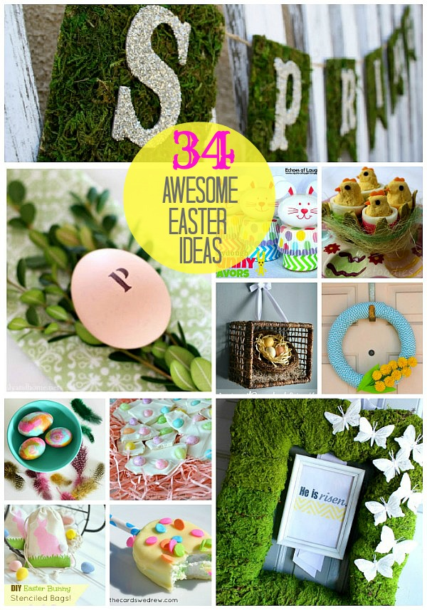 Great Ideas -- 34 Wonderful Easter Ideas!! -- Tatertots