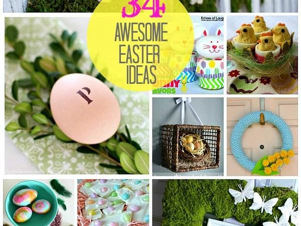 Great Ideas — 34 Wonderful Easter Ideas!!