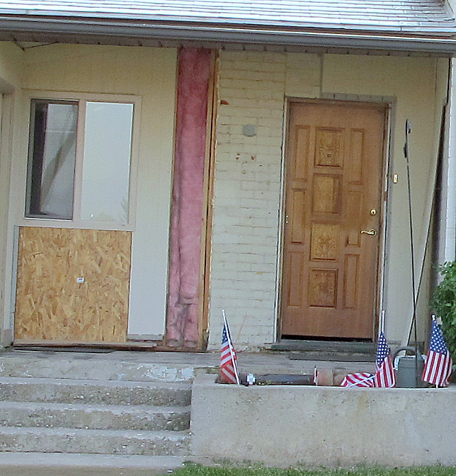 little house front porch before