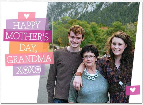 mothers day card sherrol