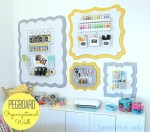 Make a Pegboard Organizational Wall!