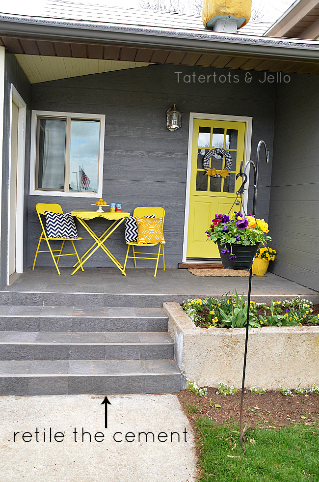 Spring Front Porch Makeover 1905cottage Tatertots And
