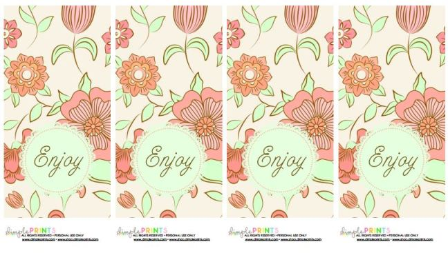 enjoy printable from dimple prints