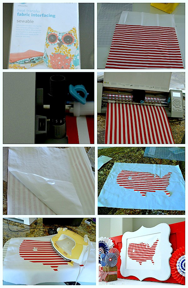 how to use fabric interfacing from silhouette