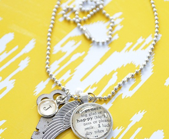 Weekend Wrap-Up Party — Win 5 Typography Necklaces!!