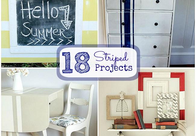 Great Ideas — 18 Summertime STRIPE ideas!