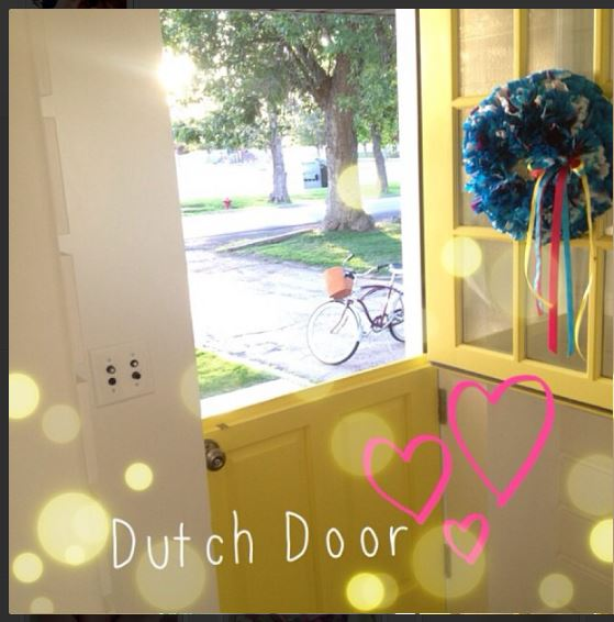 dutch door love
