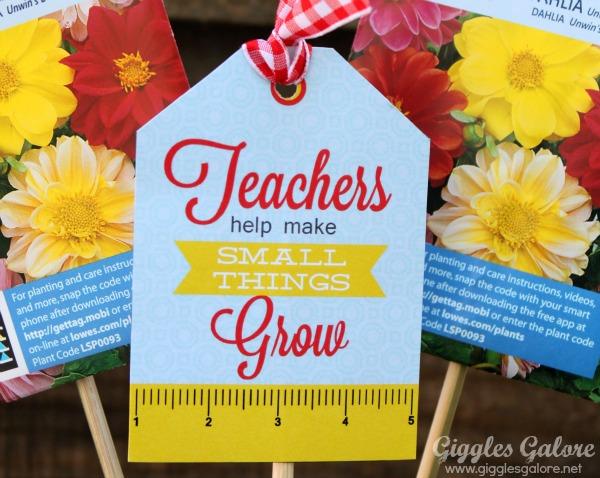 teachers grow printable