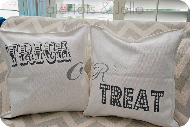 how to make a pillow cover with heat transfer
